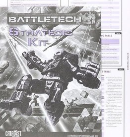 Catalyst Game Lab Battletech: Strategic Kit