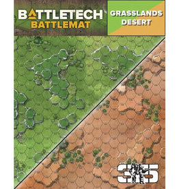 Catalyst Game Lab BattleTech: Battle Mat- Grasslands Desert