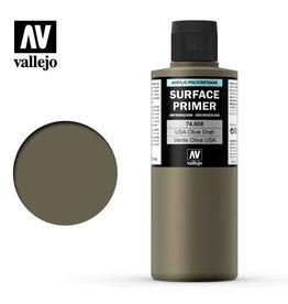 Vallejo Primer: U.S. Olive Drab, 200 ml.
