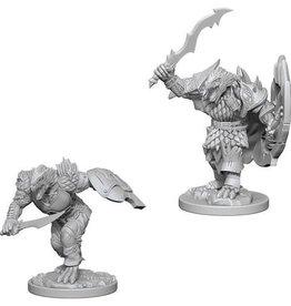 WizKids D&D Nolzur's Marvelous Unpainted Miniatures: W4 Dragonborn Male Fighter