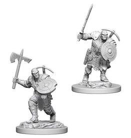 WizKids D&D Nolzur's Marvelous Unpainted Miniatures: W4 Earth Genasi Male Fighter
