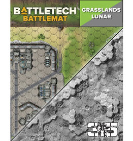 Catalyst Game Lab BattleTech: Battle Mat- Grasslands Lunar