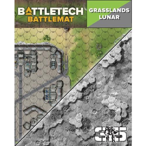 Catalyst Game Lab BattleTech: Battle Mat- Grasslands Lunar