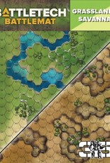Catalyst Game Lab BattleTech: Battle Mat- Grasslands Savanna