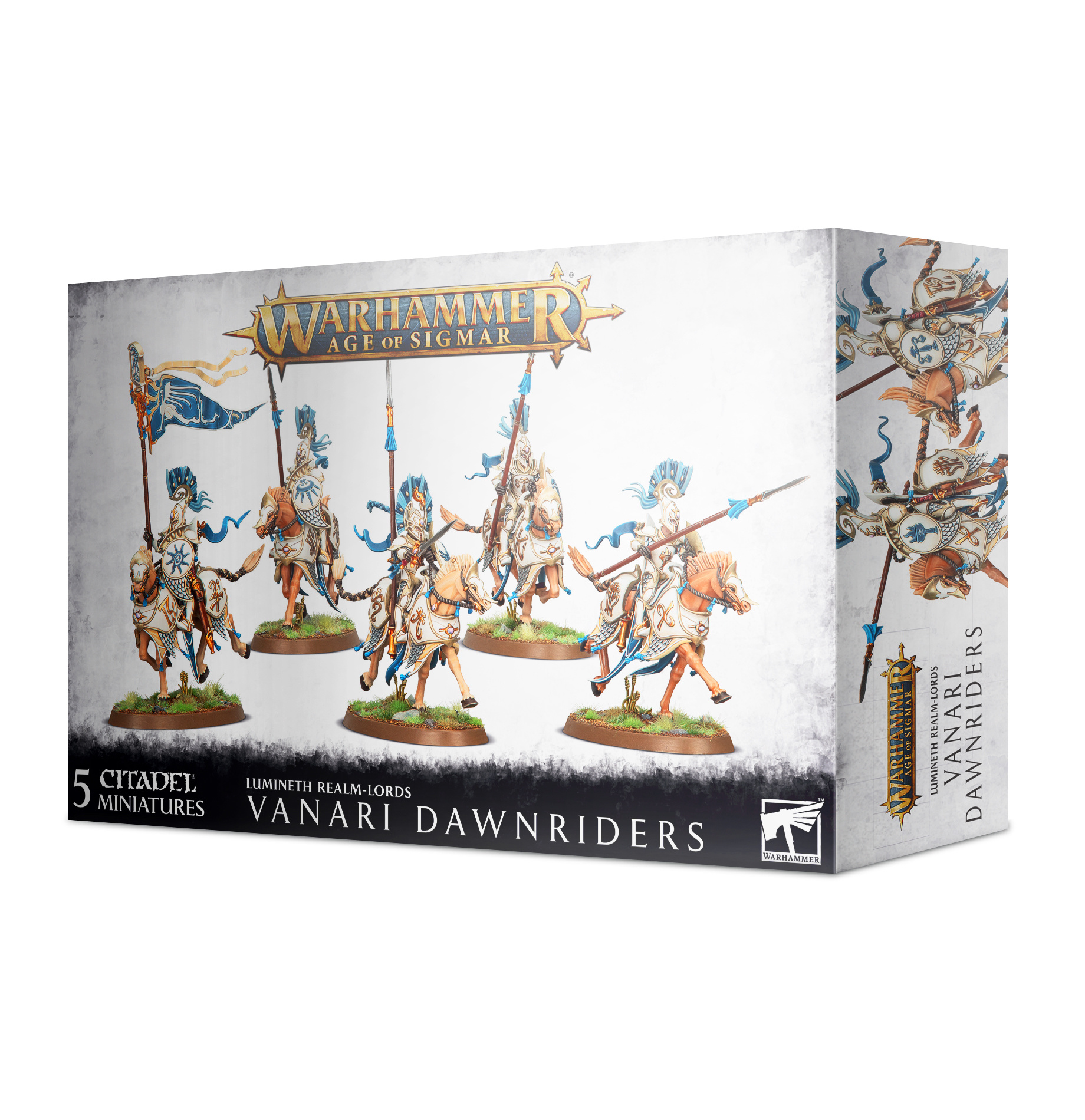 Games-Workshop Lumineth Realm-Lords Vanari Dawnriders