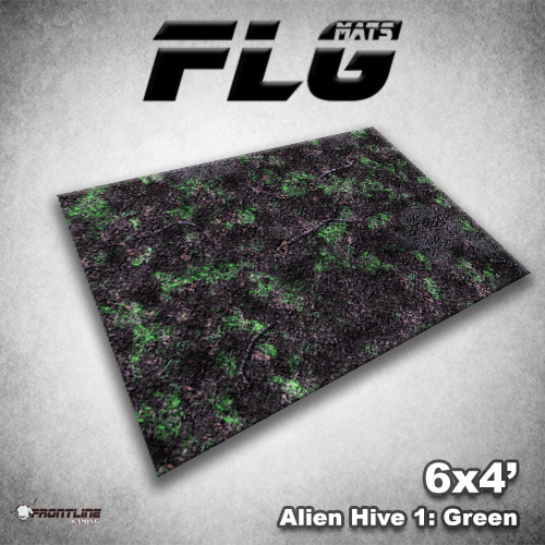 Frontline-Gaming FLG Mats: Alien Hive 6x4'