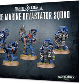 Games-Workshop Space Marine Devastator Squad