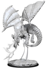 WizKids D&D Nolzur's Marvelous Unpainted Miniatures: W8 Young Blue Dragon