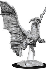 WizKids D&D Nolzur's Marvelous Unpainted Miniatures: W8 Young Copper Dragon