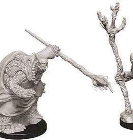 WizKids D&D Nolzur's Marvelous Unpainted Miniatures: W9 Tortle Adventurers