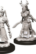 WizKids D&D Nolzur's Marvelous Unpainted Miniatures: W9 Female Human Druid