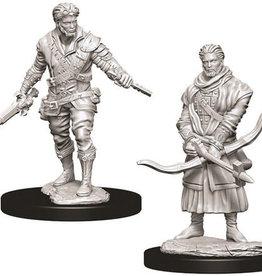 WizKids D&D Nolzur's Marvelous Unpainted Miniatures: W9 Male Human Rogue