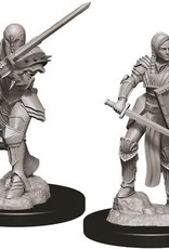 WizKids D&D Nolzur's Marvelous Unpainted Miniatures: W9 Female Human Fighter