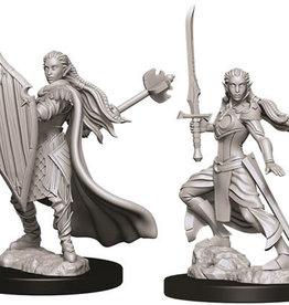 WizKids D&D Nolzur's Marvelous Unpainted Miniatures: W9 Female Elf Paladin