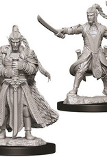 WizKids D&D Nolzur's Marvelous Unpainted Miniatures: W9 Male Elf Paladin