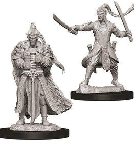 WizKids D&D Nolzur's Marvelous Unpainted Miniatures: W9 Male Elf Paladin