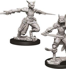 WizKids D&D Nolzur's Marvelous Unpainted Miniatures: W9 Female Tabaxi Rogue