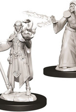 WizKids D&D Nolzur's Marvelous Unpainted Miniatures: W9 Male Elf Wizard