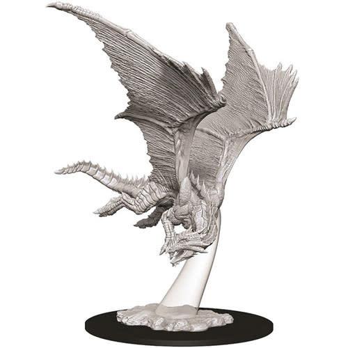 WizKids D&D Nolzur's Marvelous Unpainted Miniatures: W9 Young Bronze Dragon