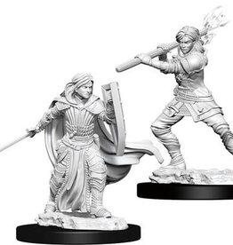 WizKids D&D Nolzur's Marvelous Unpainted Miniatures: W10 Female Human Paladin
