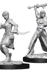 WizKids D&D Nolzur's Marvelous Unpainted Miniatures: W10 Female Human Rogue