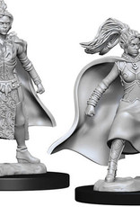 WizKids D&D Nolzur's Marvelous Unpainted Miniatures: W10 Female Human Sorcerer