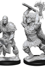 WizKids D&D Nolzur's Marvelous Unpainted Miniatures: W10 Male Goliath Barbarian