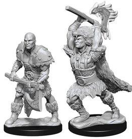WizKids D&D Nolzur's Marvelous Unpainted Miniatures: W10 Male Goliath Barbarian