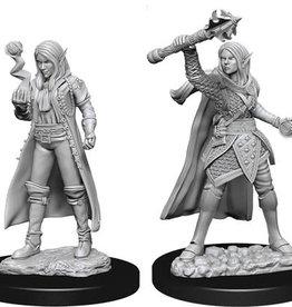 WizKids D&D Nolzur's Marvelous Unpainted Miniatures: W10 Female Elf Cleric