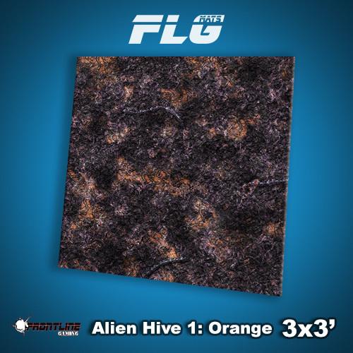 Frontline-Gaming FLG Mats: Alien Hive 3x3'