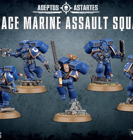 Games-Workshop Space Marine Assault Squad