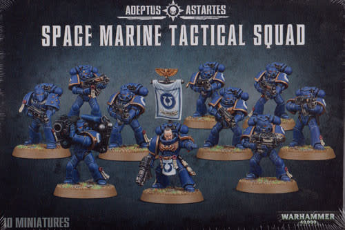 Games-Workshop Space Marine Tactical Squad