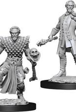 WizKids D&D Nolzur's Marvelous Unpainted Miniatures: W10 Male Human Warlock