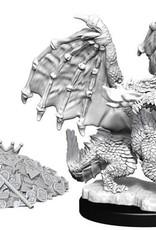 WizKids D&D Nolzur's Marvelous Unpainted Miniatures: W10 Red Dragon Wyrmling