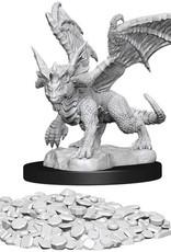 WizKids D&D Nolzur's Marvelous Unpainted Miniatures: W10 Blue Dragon Wyrmling