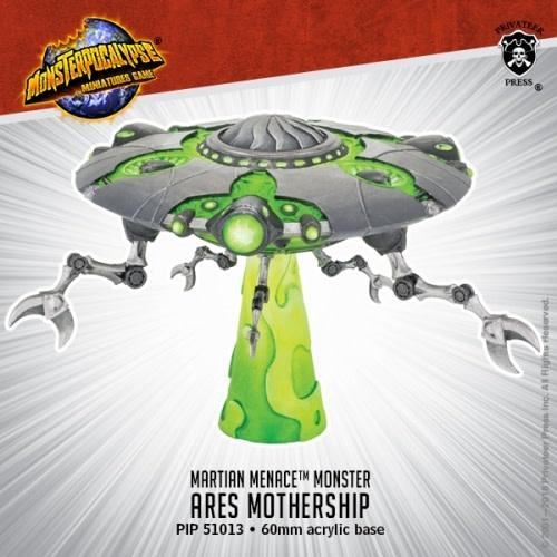 Privateer Press Monsterpocalypse: Martian Menace- Ares Mothership