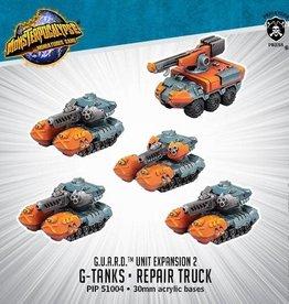 Privateer Press Monsterpocalypse: Protector G.U.A.R.D.- G-Tanks & Repair Truck