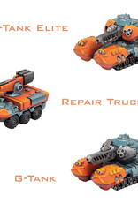 Privateer Press Monsterpocalypse: Protector G.U.A.R.D.- G-Tanks & Repair Truck