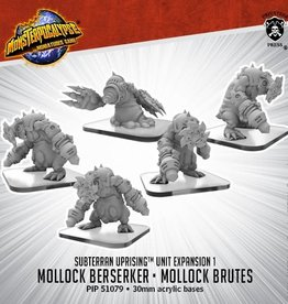 Privateer Press Monsterpocalypse: Subterran- Mollock Brutes & Mollock Berserker, Unit