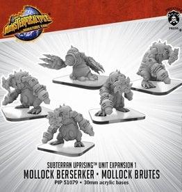 Privateer Press Monsterpocalypse: Subterran- Mollock Brutes & Mollock Berserker, Unit