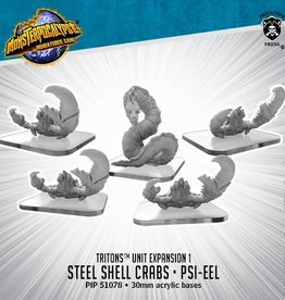 Privateer Press Monsterpocalypse: Triton- Steel Shell Crabs & Psi-Eel, Unit
