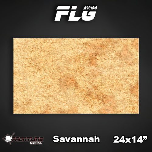 """Frontline-Gaming FLG Mats: Savannah 24"""" x 14"""""""