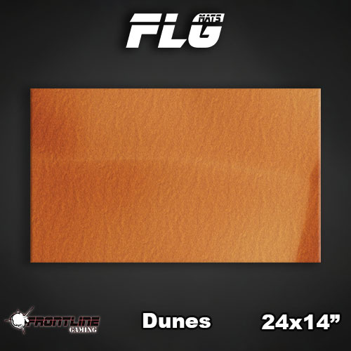"Frontline-Gaming FLG Mats: Dunes 24"" x 14"""