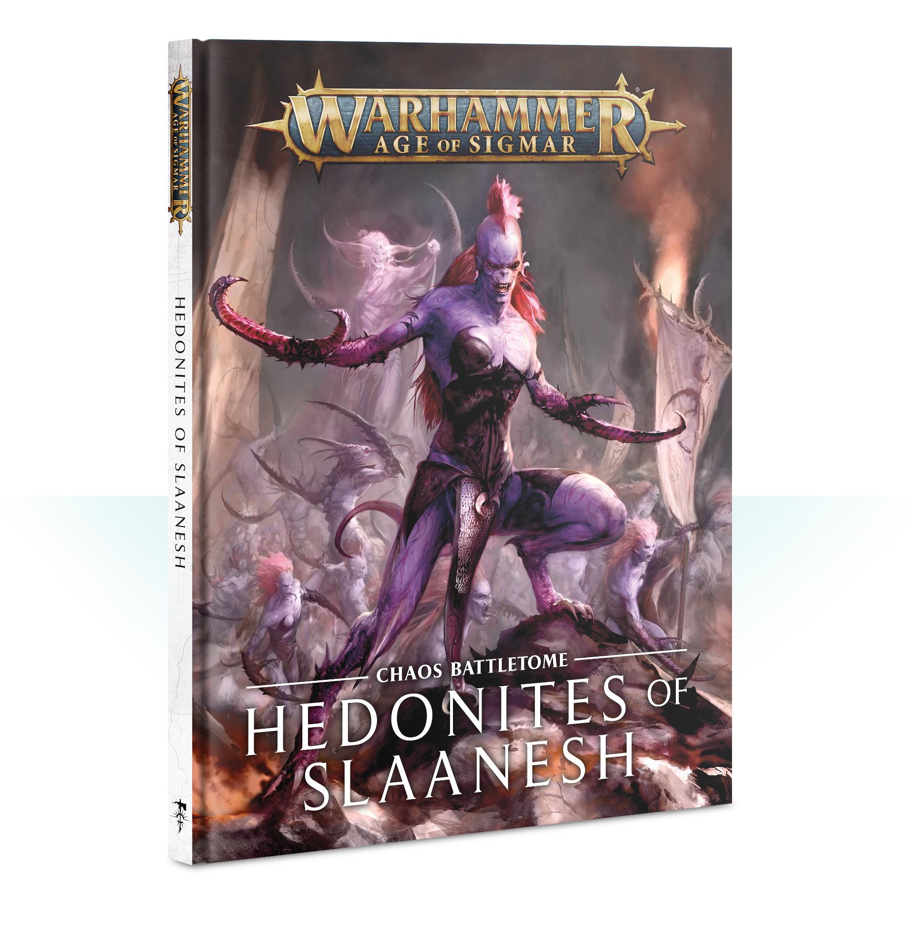 Games-Workshop Battletome:Hedonites Of Slaanesh