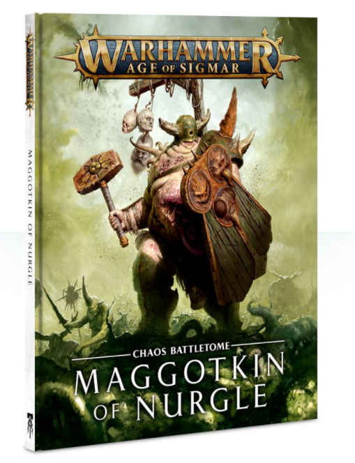 Games-Workshop Battletome: Maggotkin Of Nurgle