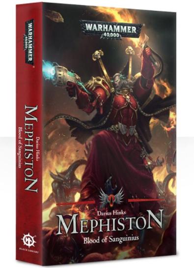 Black Library Mephiston: Blood Of Sanguinius