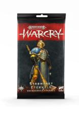 Games-Workshop Warcry: Stormcast Sacrosanct Cards