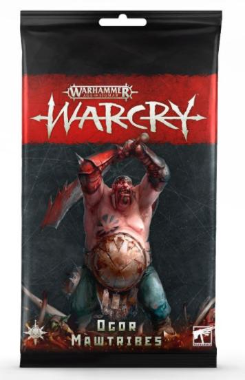 Games-Workshop Warcry: Ogor Mawtribes Cards