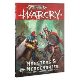 Games-Workshop Warcry: Monsters & Mercenaries (English)