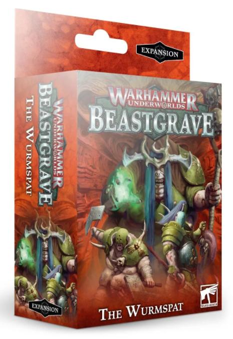 Games-Workshop Warhammer Underworlds: The Wurmspat (English)